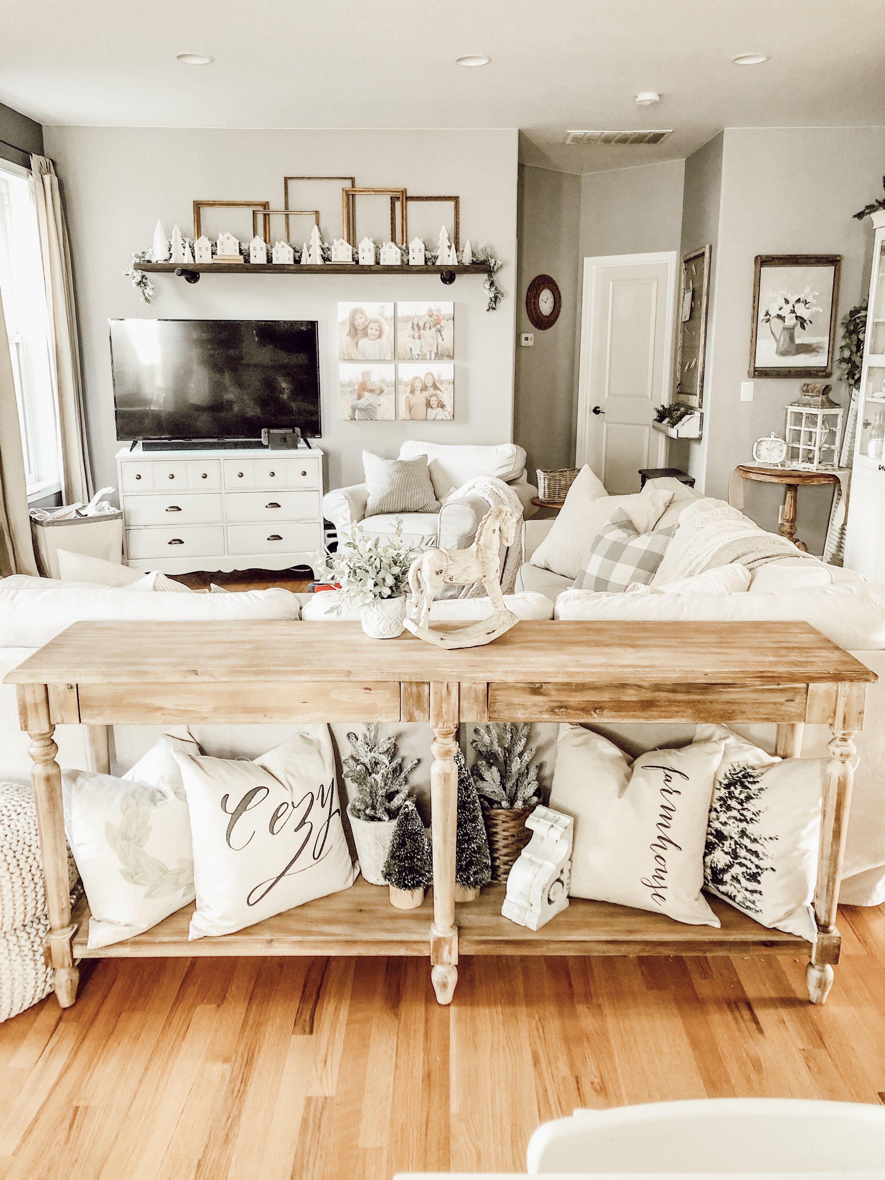 Cottage Farmhouse Living Room Decor Home Inspiration Ant