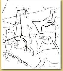 Antelope Herd Showing Pregnant Females Arte Rupestre Arte Rupestre
