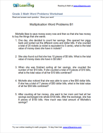 Grade 3 Multiplication Word Problem Worksheets Division Word Problems Multiplication Word Problems Word Problems
