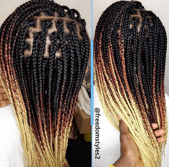 Box Braids Hair By Qphairproduct Freedomstyle Greyhair Freedom Hair Hair Styles Box Braids Hairstyles For Black Women Natural Hair Styles