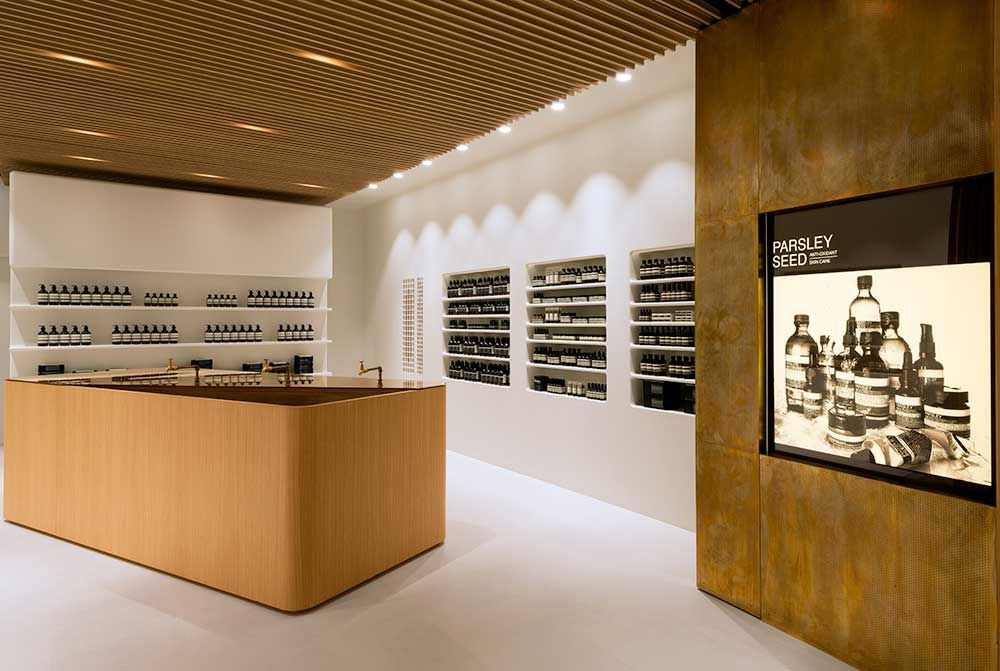 Tour Of Aesop Stores Around The World Shop Interior Design Aesop Store Retail Design
