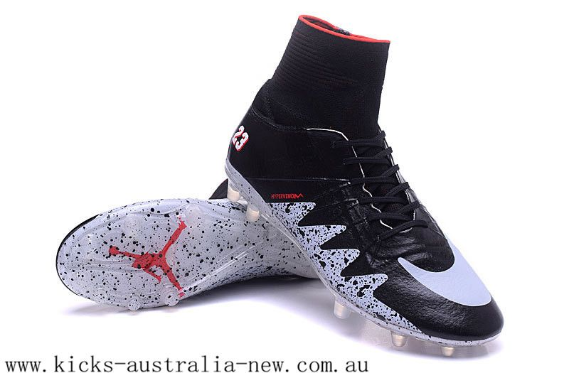 Soccer shoes · Nike Hypervenom Phantom 2 Neymar X AIR Jordan Black  Reflective Silver Infared