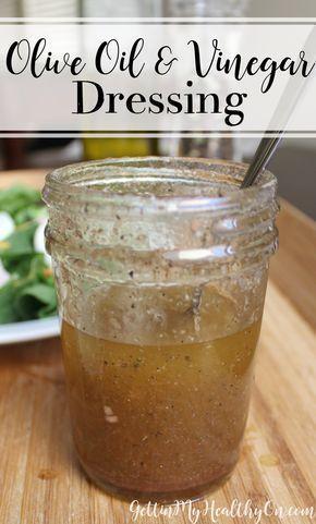 Olive Oil & Vinegar Dressing #oliveoils