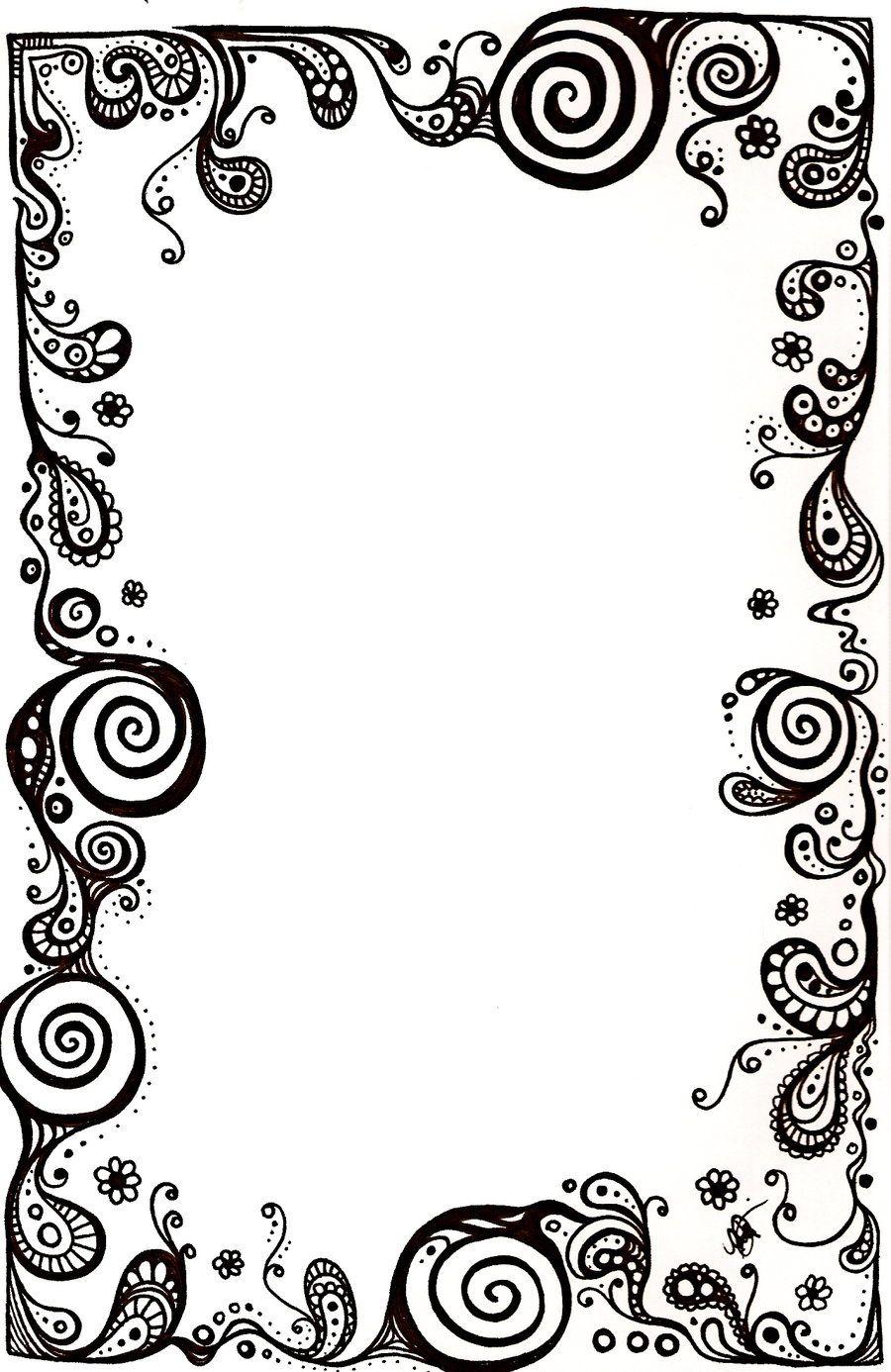 image result for borders and frames sey pinterest deviantart