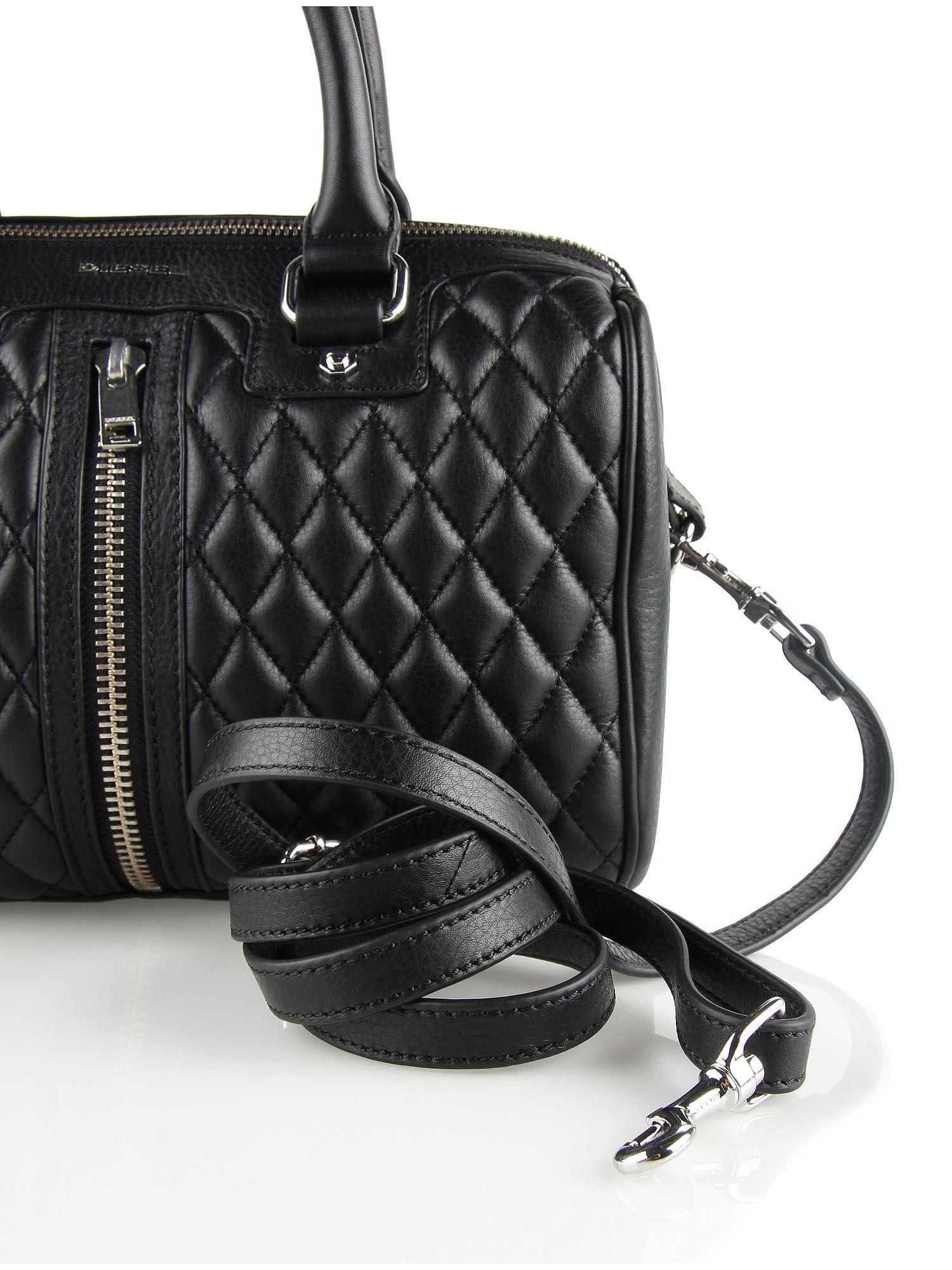 designer fashion 84567 36080 Diesel LE AXELLE ZIP Handbag. Find out more on Diesel Online ...