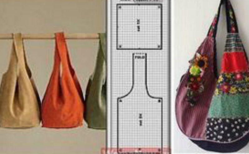 b3f58b0126 Eccoci qui a parlare di borse fatte a mano, nelle mie scorribande sul web  ho trovato un bel po' di tutorial per poter realizzare questo accessorio  tanto a