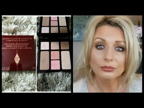Charlotte Tilbury Instant Look In A Palette Demo Review Eye Makeup Techniques Youtube Makeup Eye Makeup