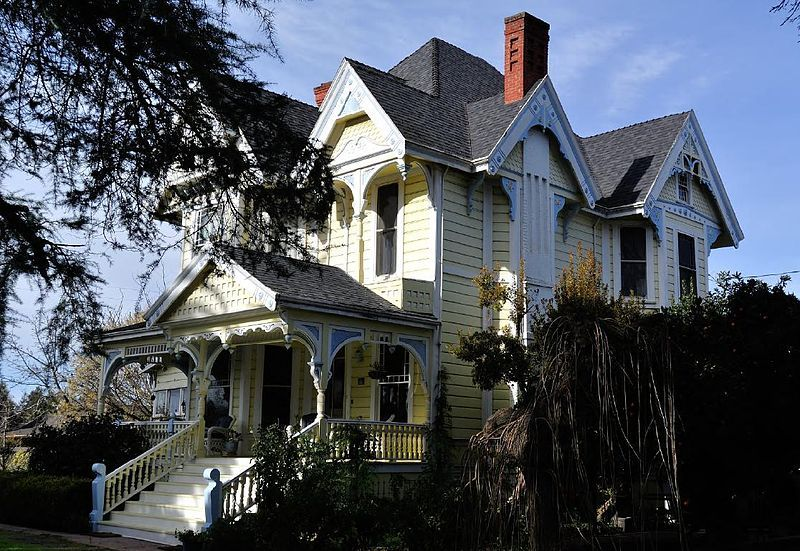 vintage victorian the mchenry house a george f barber queen anne rh pinterest com