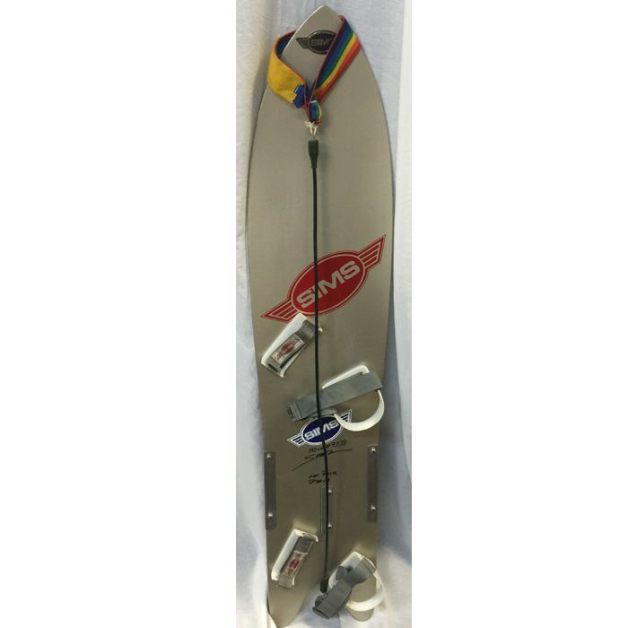 SIMS Vintage Early 80's F.E. 140cm Snowboard Signed By Tom