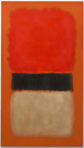Black Stripe Orange Gold And Black Mark Rothko 21 3 Million Mark Rothko Most Expensive Painting Rothko
