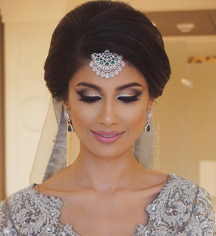 Hindu Bridal Hairstyles 14 Safe Hairdos For The Modern: GLOBAL BEAUTY EDUCATOR 14+yrs MUA
