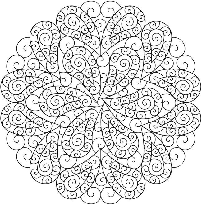 Creative Haven Paisley Mandalas Coloring Book Welcome to Dover - copy coloring pages with hearts and flowers