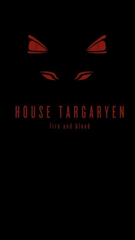 Minimalist House Targaryen Game Of Thrones Poster Game Of