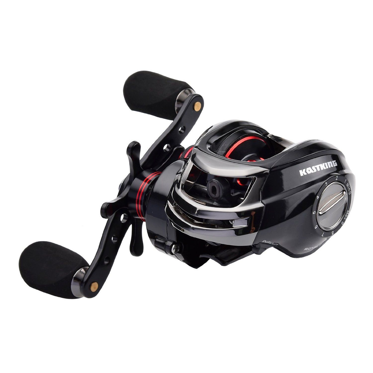 KastKing Royale Legend High Speed (7.0 :1) Low Profile Baitcasting Fishing Reel