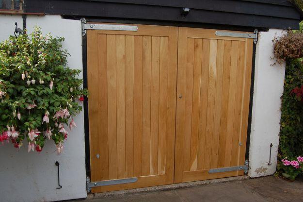 Side hung garage doors. Andrew Page Oak Ltd, Quality Oak framed ...