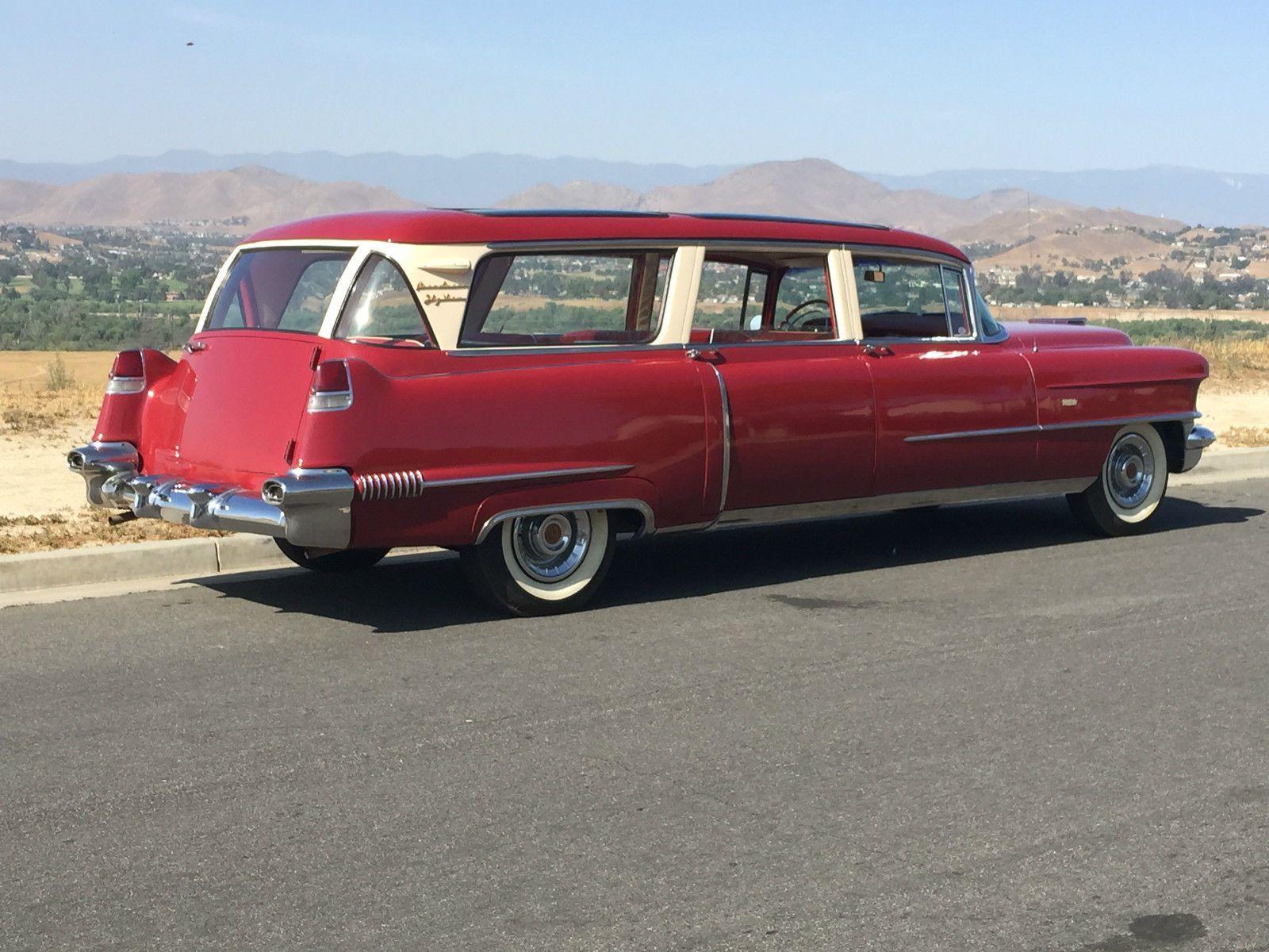 56 cadillac broadmoor skyview wagon