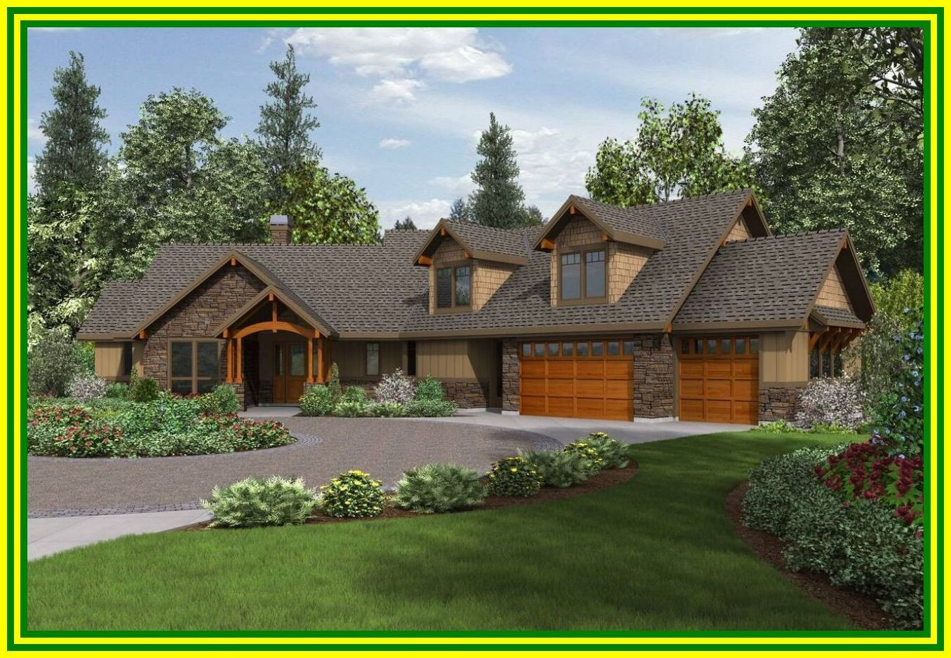 103 Reference Of Floor Plans Ranch Style With Basement Craftsman Style House Plans Craftsman House Plans Ranch House Designs