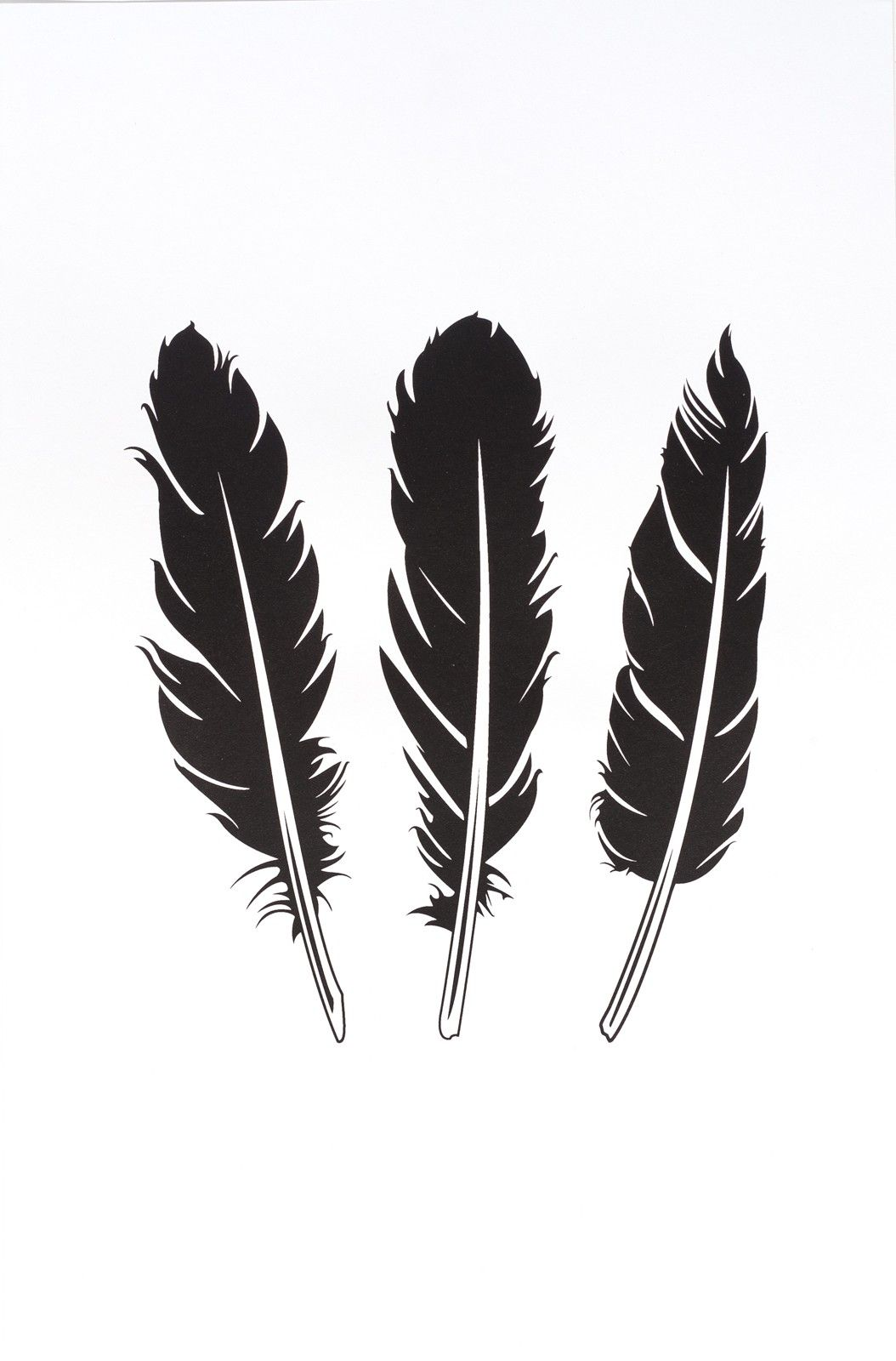 Lucrative image with printable feathers