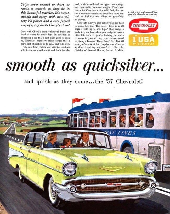 1957 Chevrolet Belair 4 Door Sedan 1957 Chevrolet Vintage Advertisements Chevrolet