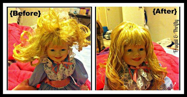 Doll Hair Detangler Spray!