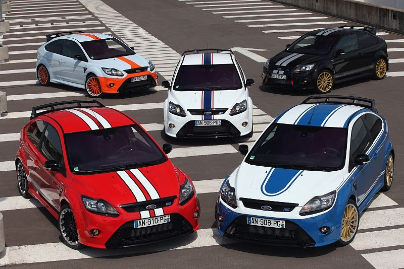 Ford Focus With Different Stripes And Seperatons Ford Focus Ford Sport