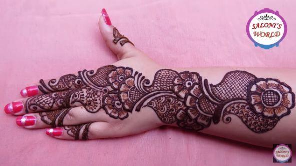 Simple Arabic Henna Mehndi Designs For Hand Artsycraftsydad