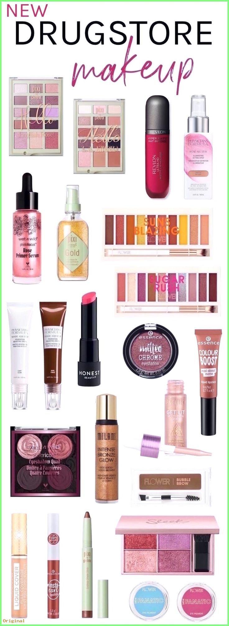 50+ Make Up – Neue Drogerie Make-up Must-Haves Frühling 2019 #drugstoremakeup #…