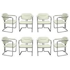 Image Result For Art Deco Dining Chairs Chrome  Art Deco Stunning White Leather Dining Room Chairs Sale Decorating Design