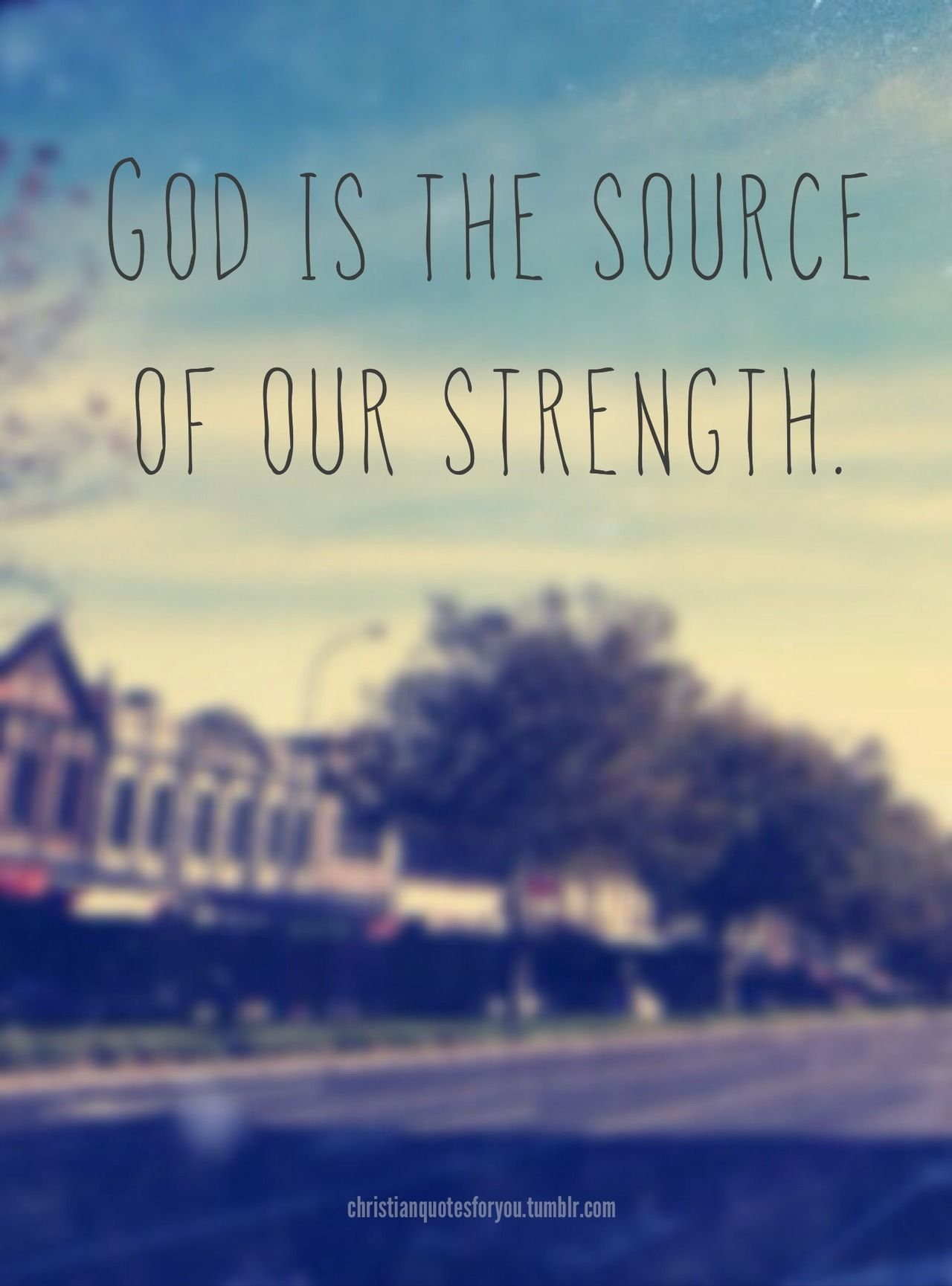 GOD is the ultimate source, all-knowing, all-sufficient