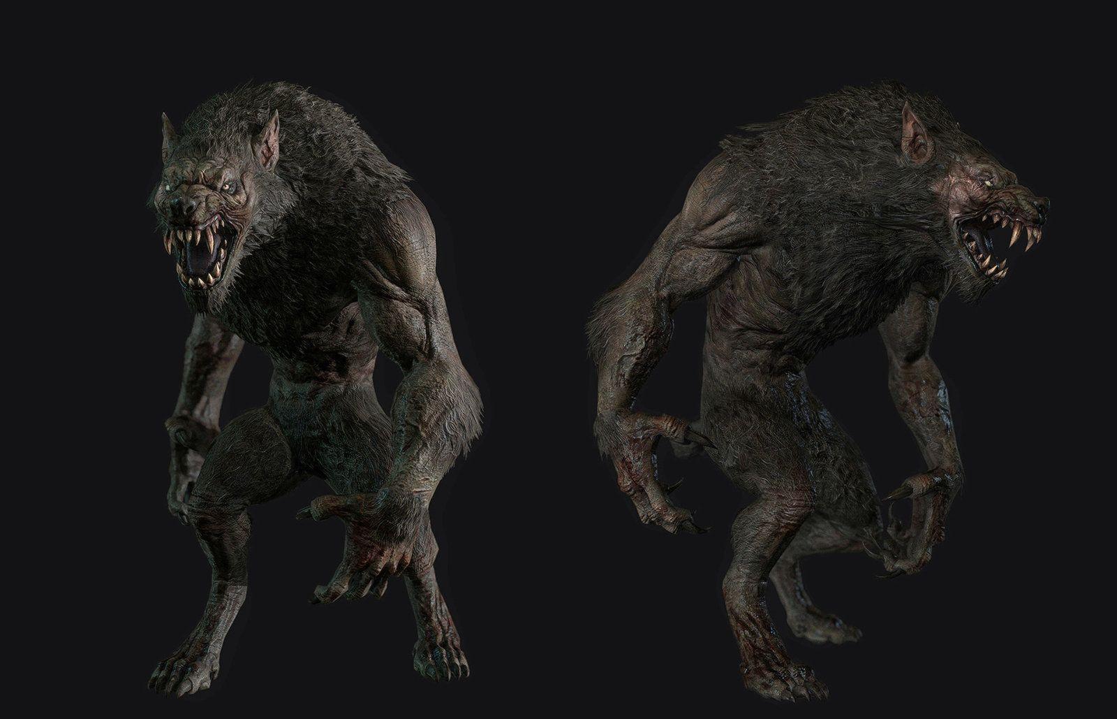 Nice werewolf - photo#48