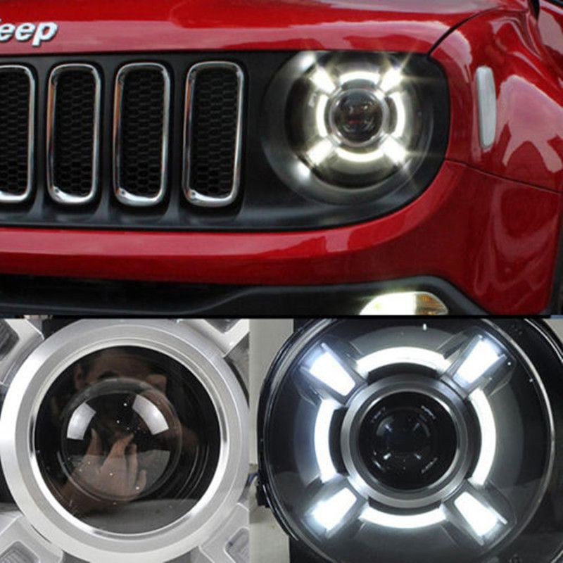 2015 2017 Year For Jeep Renegade Bu Led Headlights Bi Xenon