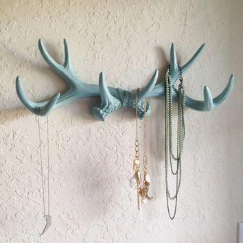 Rustic Wall Hook Deer Antler