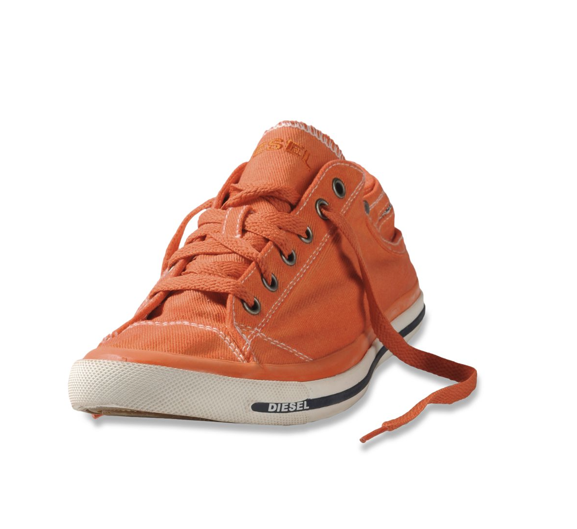 Diesel EXPOSURE LOW CASUAL SHOE AW 15 Orange Carrot
