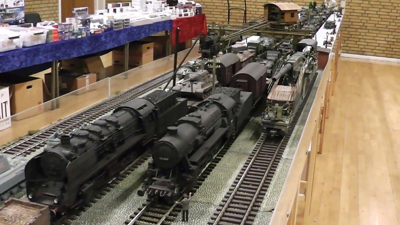 World War II Wehrmacht - a diorama in gauge 1 ( Spur 1