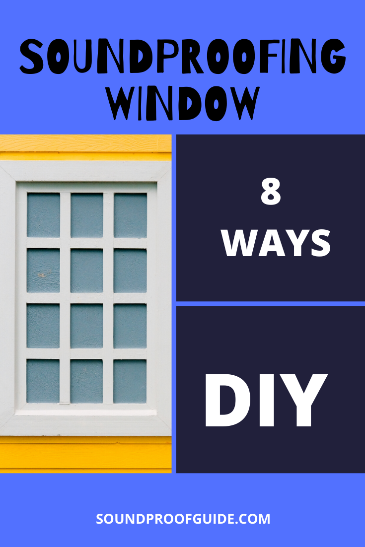 How To Soundproof A Window In A Rental Cheap Easy Diy In 2020 Sound Proofing Soundproofing Diy Soundproof Windows