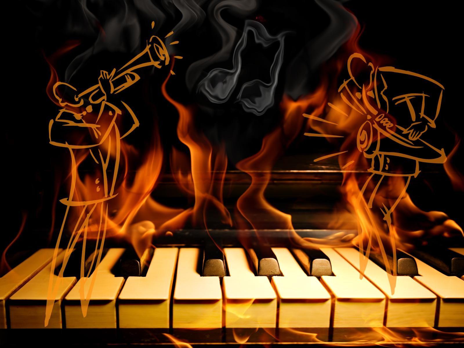 jazz music fire piano hd free wallpaper â ªâ just jazzy tunes
