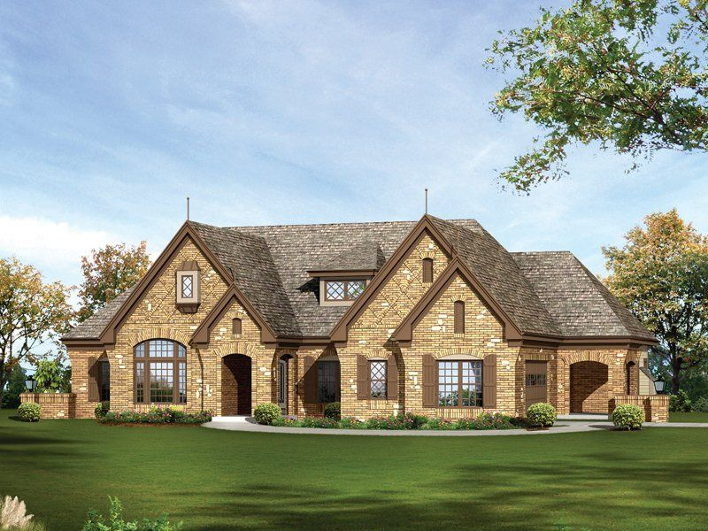 house - French Country Ranch House Plans