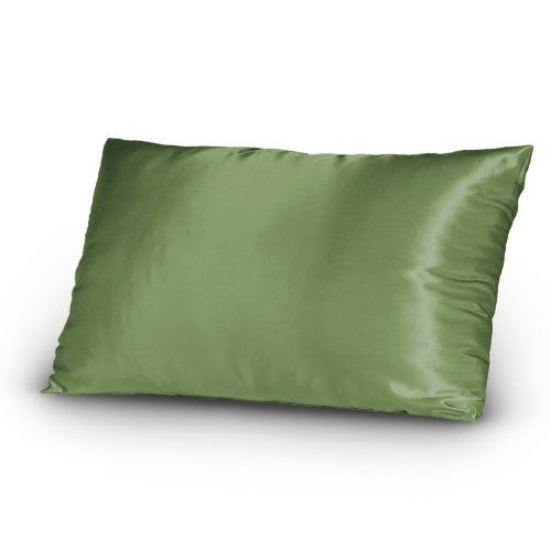 Set Of 2 Pair Satin Silky Lingerie Bed Pillowcases King