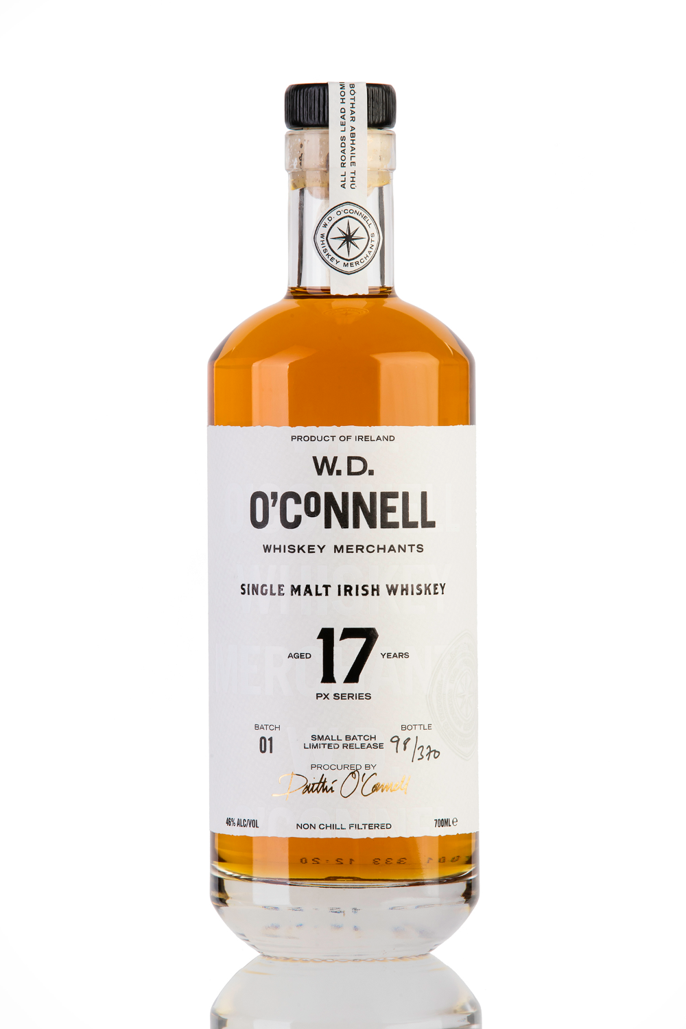 W D O Connell 17 Year Old Px Series In 2020 Irish Whiskey Single Malt Irish Whiskey Whisky