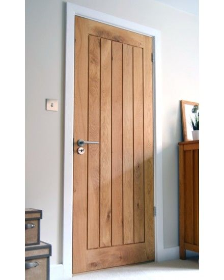 Mexicano Contemporary Solid Oak Door Internal Doors Uk