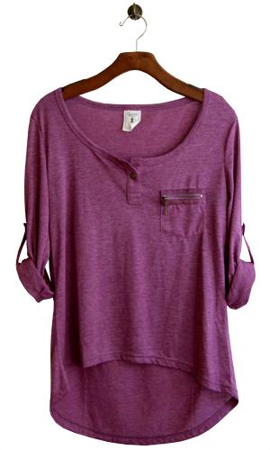 Y La FashionStyle Shirts Camisa MoradaMi Estilo 3j45RAL
