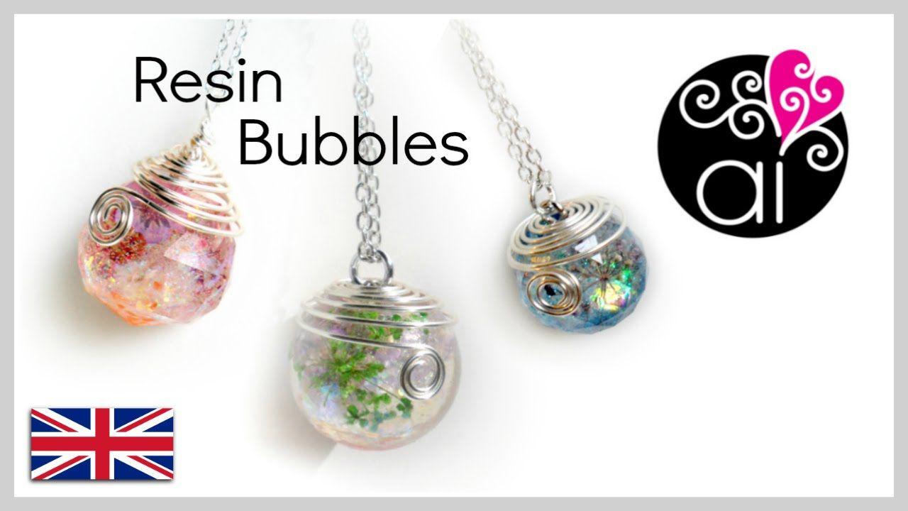 How to cast resin sphere   Tutorial Spheres   DIY Resin Bubbles ...