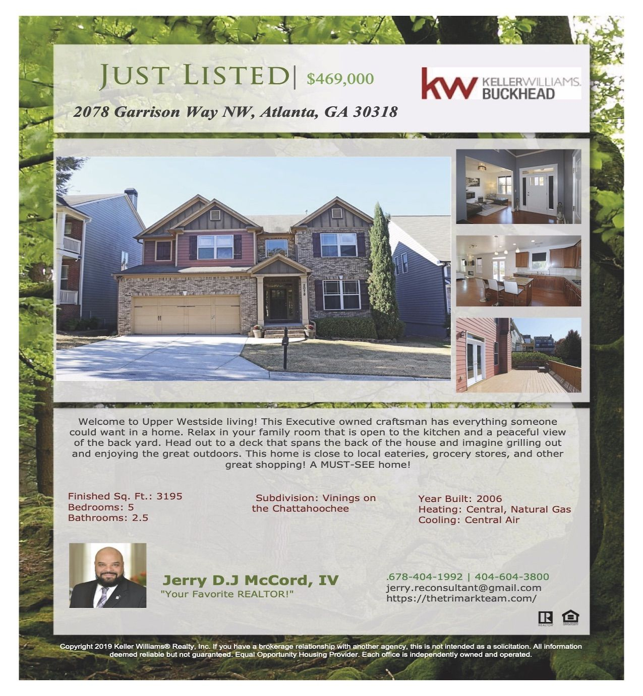 New Listing Alert Don T Miss This Lovely Home Call Me Today At 678 404 1992 For More Information Justlisted Atlanta Real Estate Family Room Buckhead