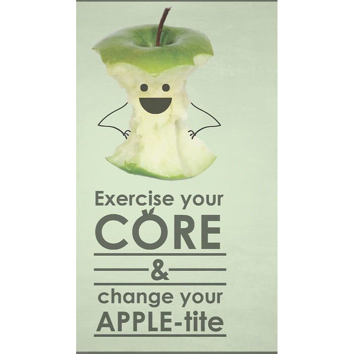 Always engage your core