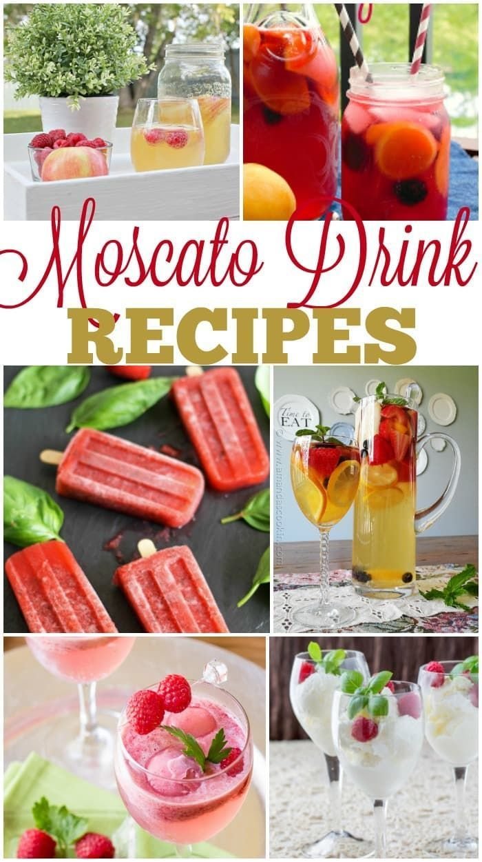 Love A Great Glass Of Wine These Moscato Drink Recipes Are So Tasty You Might Not Even Realize You Re Drinking Moscato Drinks Jello Shot Recipes Shot Recipes