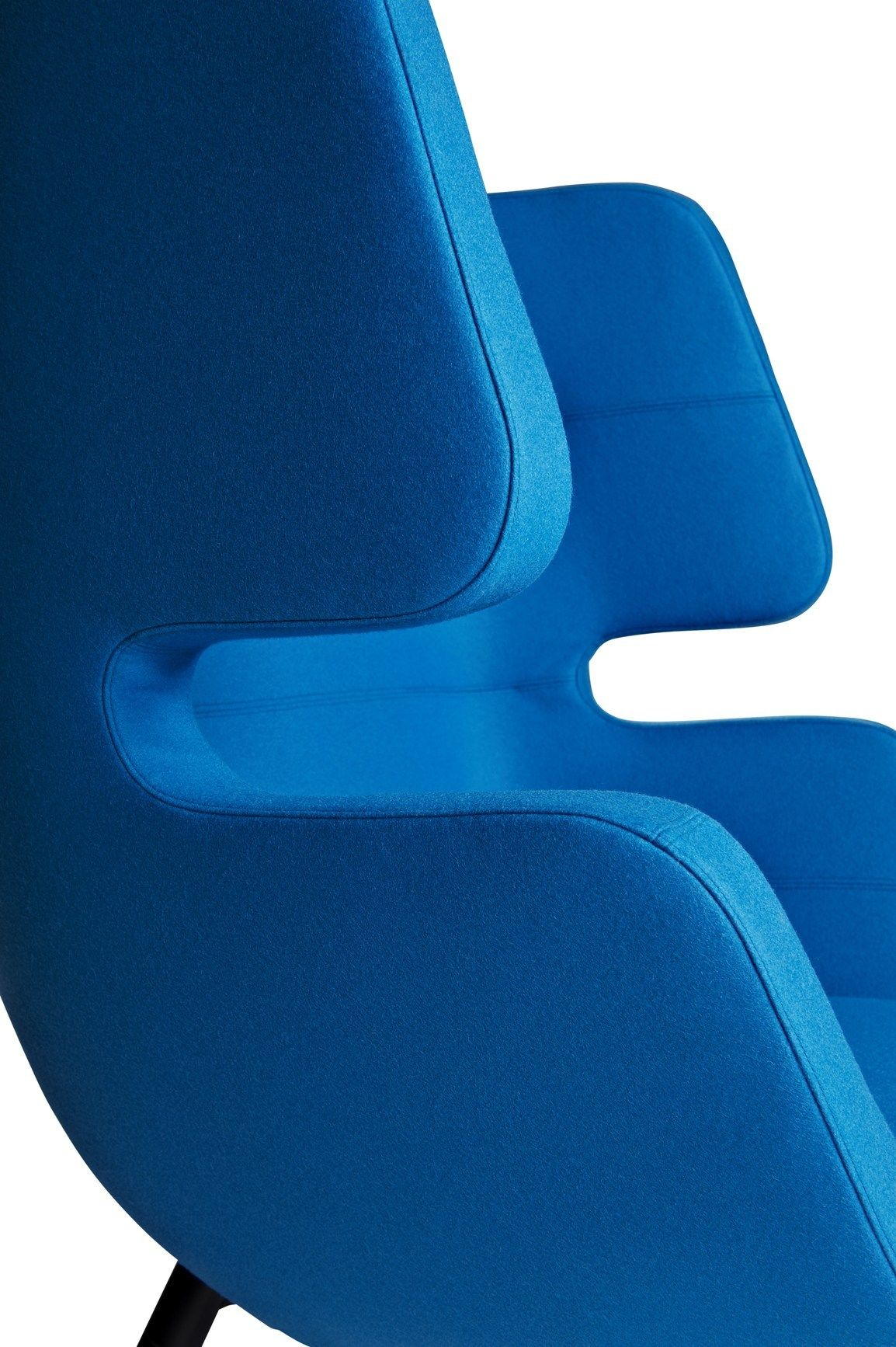 Moai Chair Inspired By Sea Pebbles An Unplugged Retreat From The Hustle Of Daily Life By Softline Iconic Furniture Design Blue Sofa Chair Classic Blue Pantone