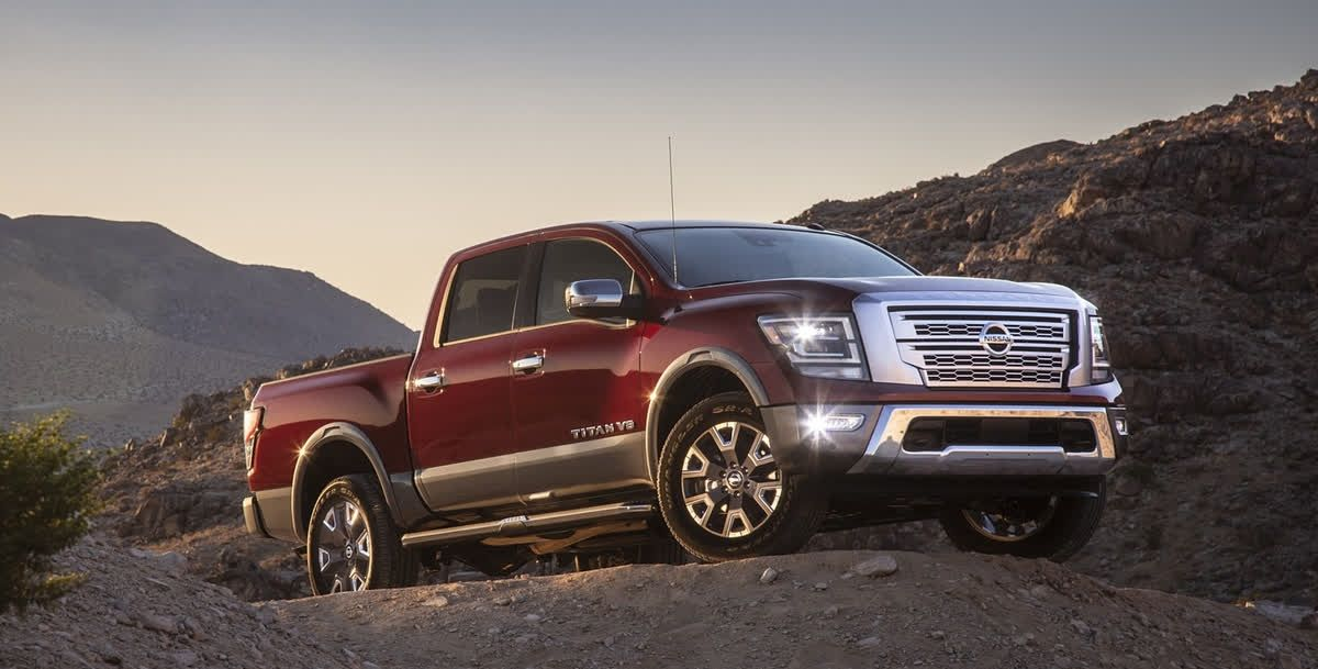 At First Glance You Will Appreciate The Titan S Bold Look That Gives It That Head Turning Action Nissan Nissan Titan Fuel Economy
