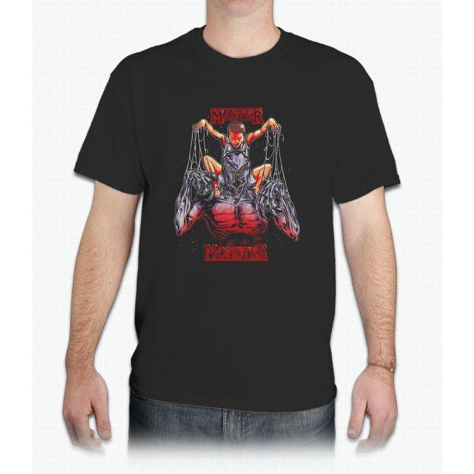 Master And The Monster Stranger Things - Mens T-Shirt