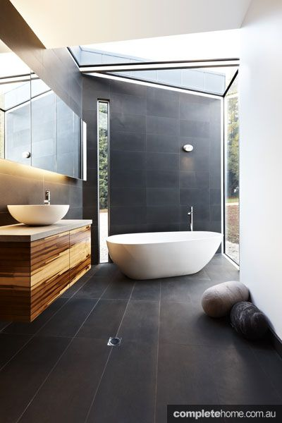 glass bathroom in the yellingbo house as featured in grand designs australia