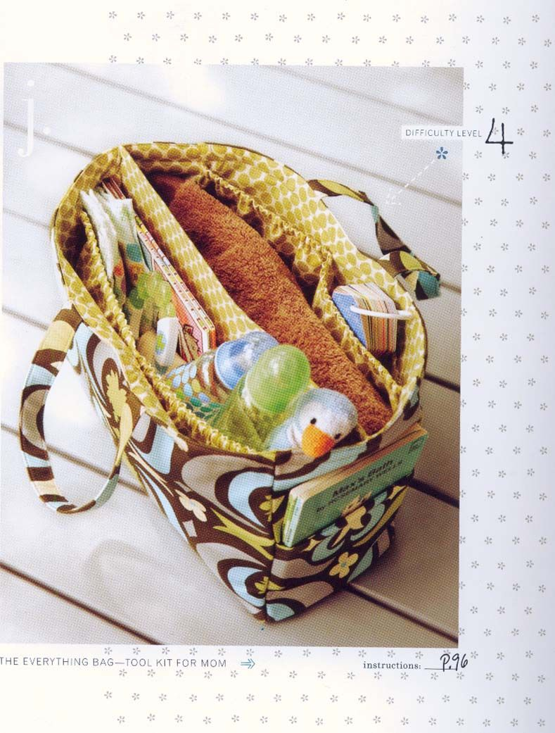 Knitting Bag Patterns To Sew : Free purse patterns to sewing amy butler